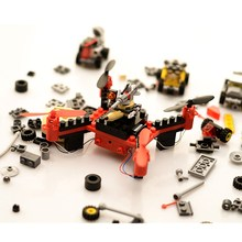 Flytec T11 DIY Building Block RC Quadcopter 3D Flip Headless Mode Mini Bricks Pocket Drone for