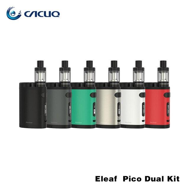 100% original ismoka eleaf pico doble con melo iii mini kit Pico Doble 200 w caja mod VW/TC Modo Dual 18650 de La Batería 200 W Mod