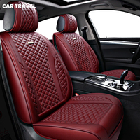 CAR TRAVEL pu leather car seat covers set for opel antara ssangyong kyron toyota chr toyota wish audi a3 8p bmw car seats