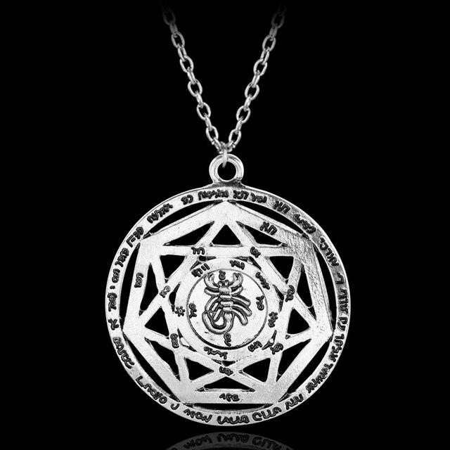 10pcslot heptagram necklace seven pointed star symbol septagram 10pcslot heptagram necklace seven pointed star symbol septagram necklace seal of god emblem sigillum aloadofball Gallery