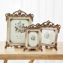 5 6 7 8 9 10 Inch Retro American High Quality Resin Photo Frame Art Decoration For  Bedroom living room decoration