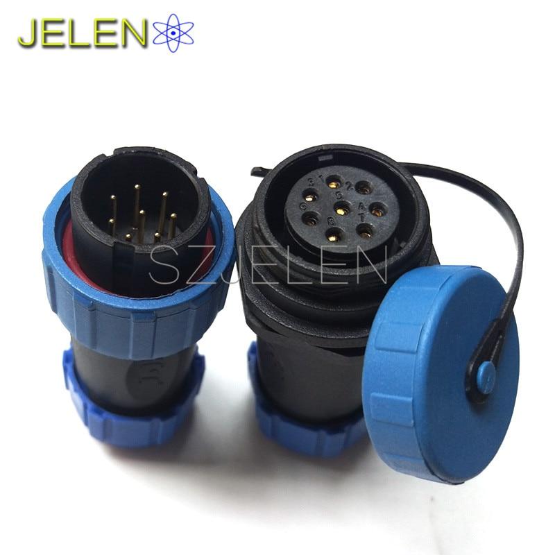 Aliexpress Com Buy Sp2110 P8 8 Pin Waterproof Electrical