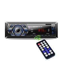 1Din в-dash Радио Bluetooth стерео плеер громкой связи AUX-IN USB/SD карты MP3-плеер 12 В Аудиомагнитолы Автомобильные FM Радио