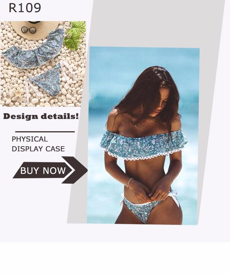 Swimwear Women Swimsuit Push Up Swimwear Female 19 Sexy Bandeau Bikini Ladies Brazilian Beach Bathing Suit bandage Bikini Set 9