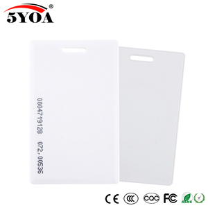Image 3 - 500pcs 1000 pieces 5YOA 1.8mm EM4100 Access Control Card 125khz Keyfob RFID Tag Tags TK4100 Token Ring Proximity Chip