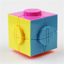 New Magic Cubes Reliever Stress Twisty Puzzles Educational Toys For Girls Boys Hobby Neocube Kids Toys Puzzle 50K296(China)