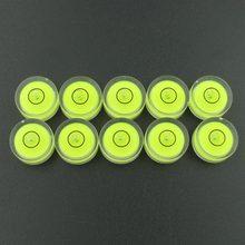 HACCURY 15*6 мм пластиковый пузырьковый уровень Универсальный транспортир индикатор уровня жидкости яблочко уровень аксессуары