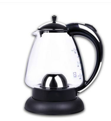 цена на Electric kettle German imported glass electric transparent automatic blackouts household Overheat Protection