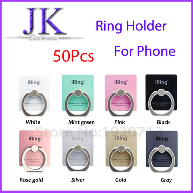 360 Degree Universal Finger Ring Mobile Phone Smartphone Stand Holder For LG xiaomi iPhone 5s 6 7 plus iPad Samsung Tablet Nokia