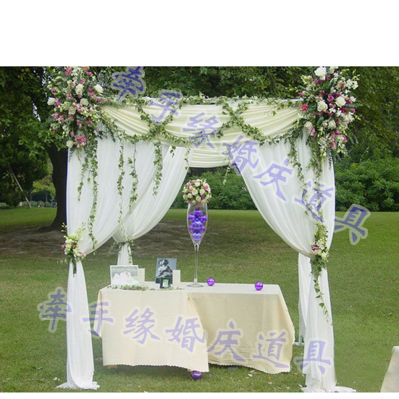 Buy Outdoor Wedding Decorations : Wedding decoration white decorated tent marquee