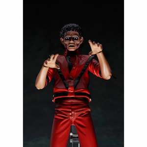 Image 5 - MJ Thriller Figma 096 Thriller Clothes Version Jackson  PVC Action Figure Toy Brinquedos