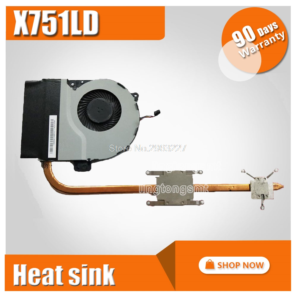 For ASUS X751MA X751MD K751M A751M X751M K751L X751L X751LK Laptop CPU cooling Radiator Heat sink Heatsink Cooler heatsink laptop heatsink