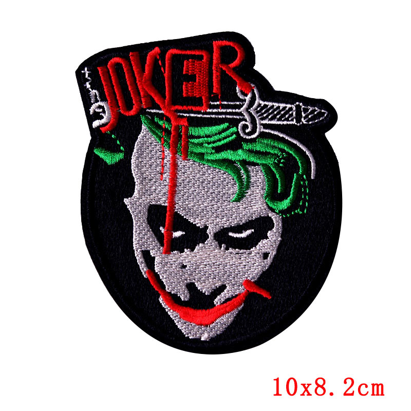 Prajna Rock Biker Patch Stalker Outlaw Iron On Patches Space Embroidered Patches For Clothes Stripe Sticker Travel Camping Badge in Patches from Home Garden