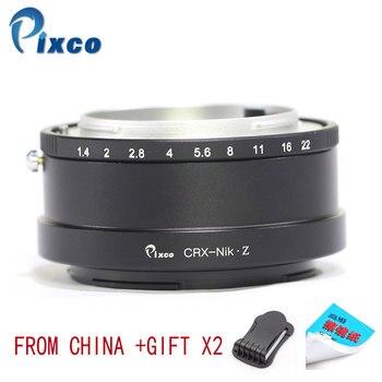Pixco CRX-For Nikon Z Lens Mount Adapter Ring Suit For Contarex CRX Mount Lens to Suit for Nikon Z Mount Camera Z6 Z7 +Gifts фото