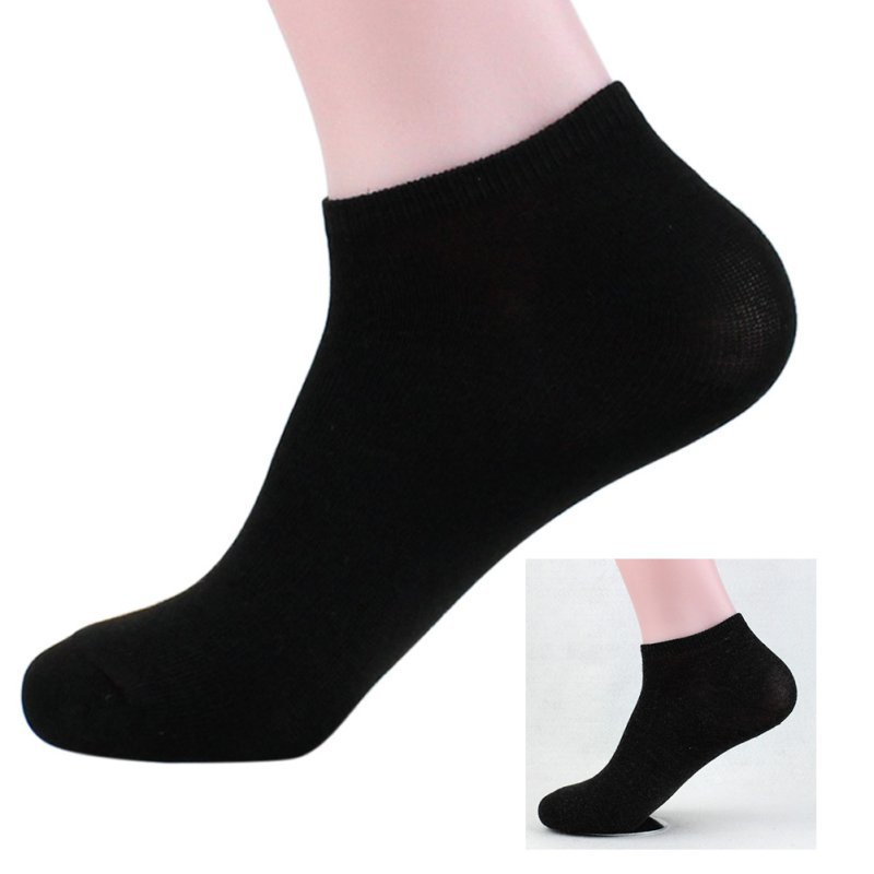 shopping coupon codes another chance US $0.6 29% OFF|Men Quarter Socks Low Cut Ankle Black White Gray Men Cotton  Casual Crew Socks calcetines deporte hombre-in Men's Socks from Underwear  ...