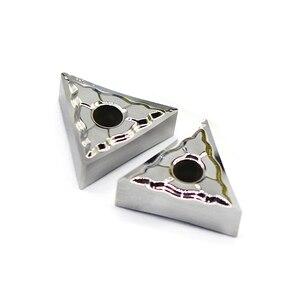 Image 2 - Tnmg160404 ak h01 cortador de alumínio lâmina tnmg 160404 inserção ferramenta de corte ferramenta torneamento torno cnc ferramentas al + liga lata madeira