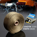 Basalt Exhaust Pipe Header Wrap Tape Kit 10m Turbo Thermal Thermo Protect1
