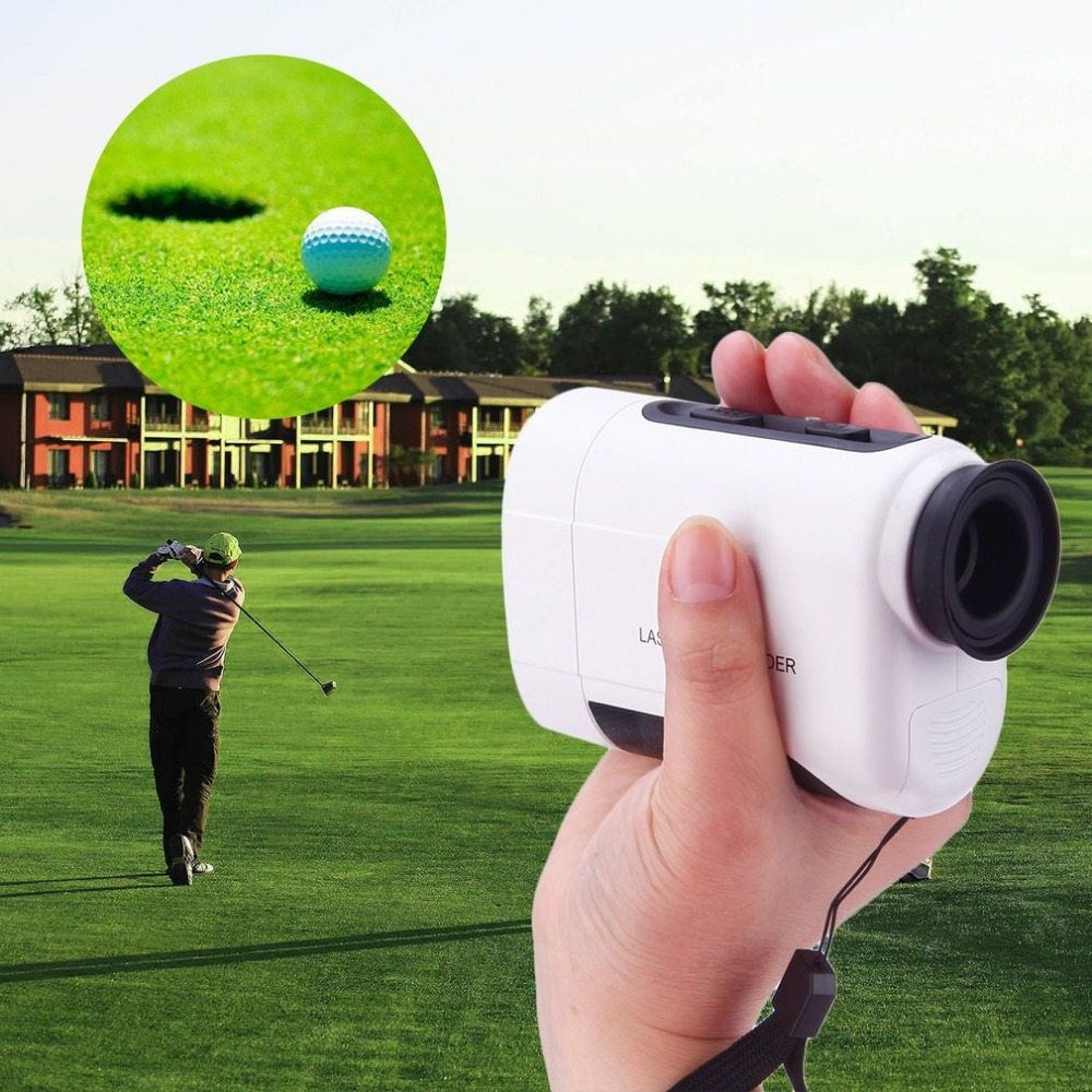 600M Hunting Golf Distance Meter Handheld Monocular Laser Rangefinder Measure Telescope Digital Range Finder simulation mini golf course display toy set with golf club ball flag