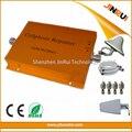 2G 3G casa Móvel repetidor de banda Dupla 900 mhz 2100 mhz impulsionador GSM wcdma reforço da rede sem fio, potenciador de sinal 900 2100 mhz