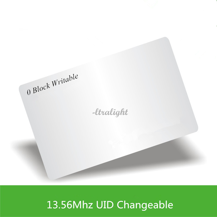 13.56Mhz  UID Changeable Ultralight Card 0 Block Writable Chinese Magic Card