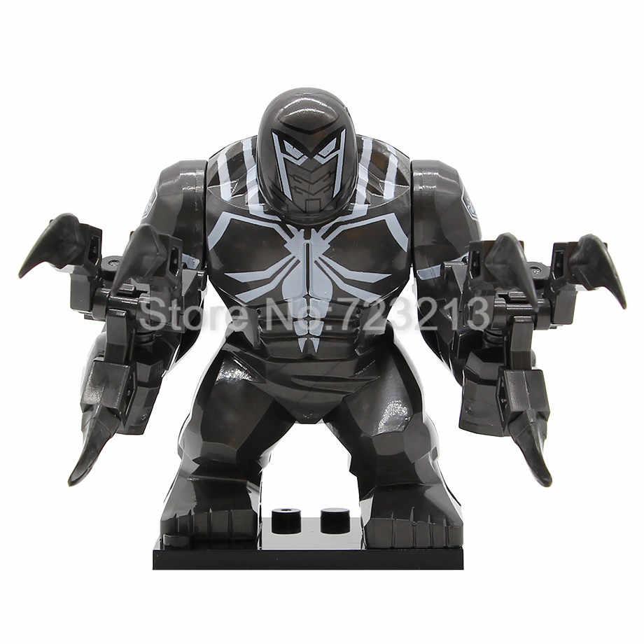 Film Baru Racun 7 Cm Besar Satu Dijual Gambar Anti Racun Pembantaian Wolverine Blok Bangunan Batu Bata Model Mainan anak-anak
