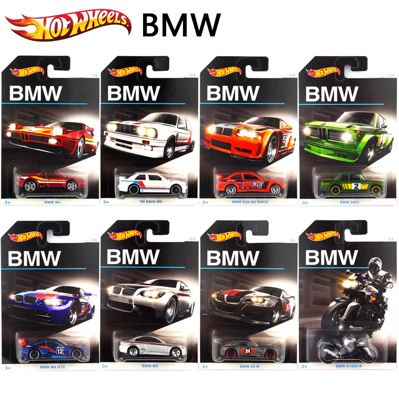 hot wheels game racing car bm edition car models series metal diecast car collection kids toy