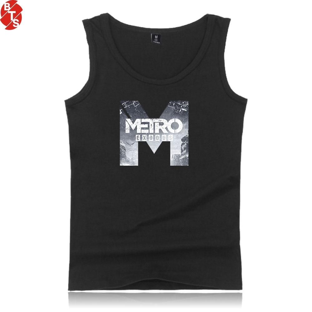 Metro Exodus Fashion Printed   Tank     Tops   Women/Men Summer Cool Sleeveless   Tops   2019 New Arrival Hot Sale Trendy Streetwear Clothes