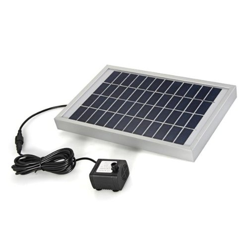 Promotion! Polycrystalline Silicon Solar Brushless Solar-Powered Water Pump Water Cycle/Pond Fountain