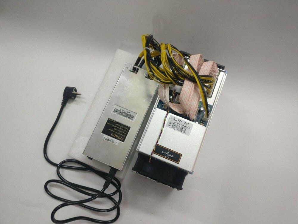 Envío Gratis se AntMiner T9 + 10,5 T Bitcoin minero con PSU Asic minero más 16nm BCC BCH minero Bitcoin máquina de minería - 5
