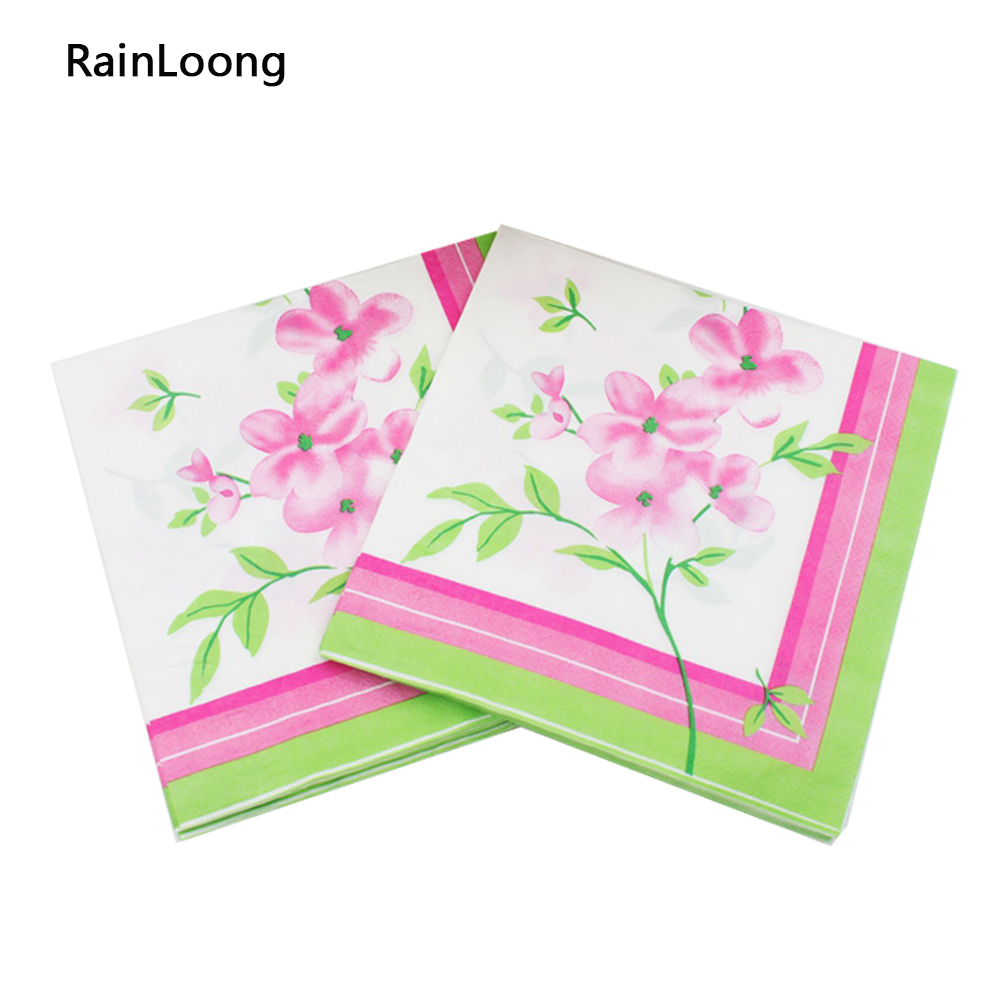 Famous flowered paper napkins motif images for wedding gown ideas enchanting flowered paper napkins motif wedding and flowers mightylinksfo