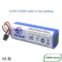 2019 Upgrade 5300mAh Lithium ion (Liion) Battery for Xiaomi Mijia Robot Vacuum Cleaner 2nd roborock S50 S51 S55 (CE&UL Approved)