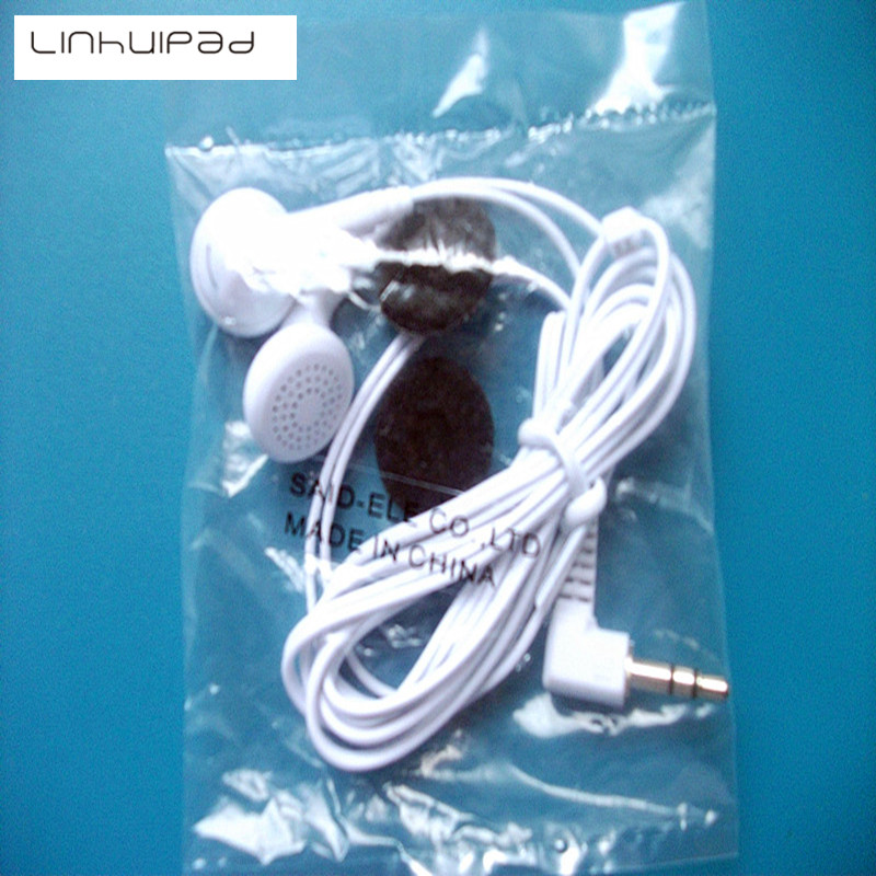 Linhuipad Free shipping disposable / School stereo Earphones with foam cushions 1.2M cord 5 pcs per lot Free shipping