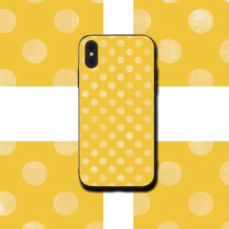 Wave point Painted Phone Cases Cover for iphone X XR XS MAX 6 6s 7 8 Plus TPU Cover Coque For iphone 7 8Plus iphone 5SE Cases in Half wrapped Cases from Cellphones Telecommunications