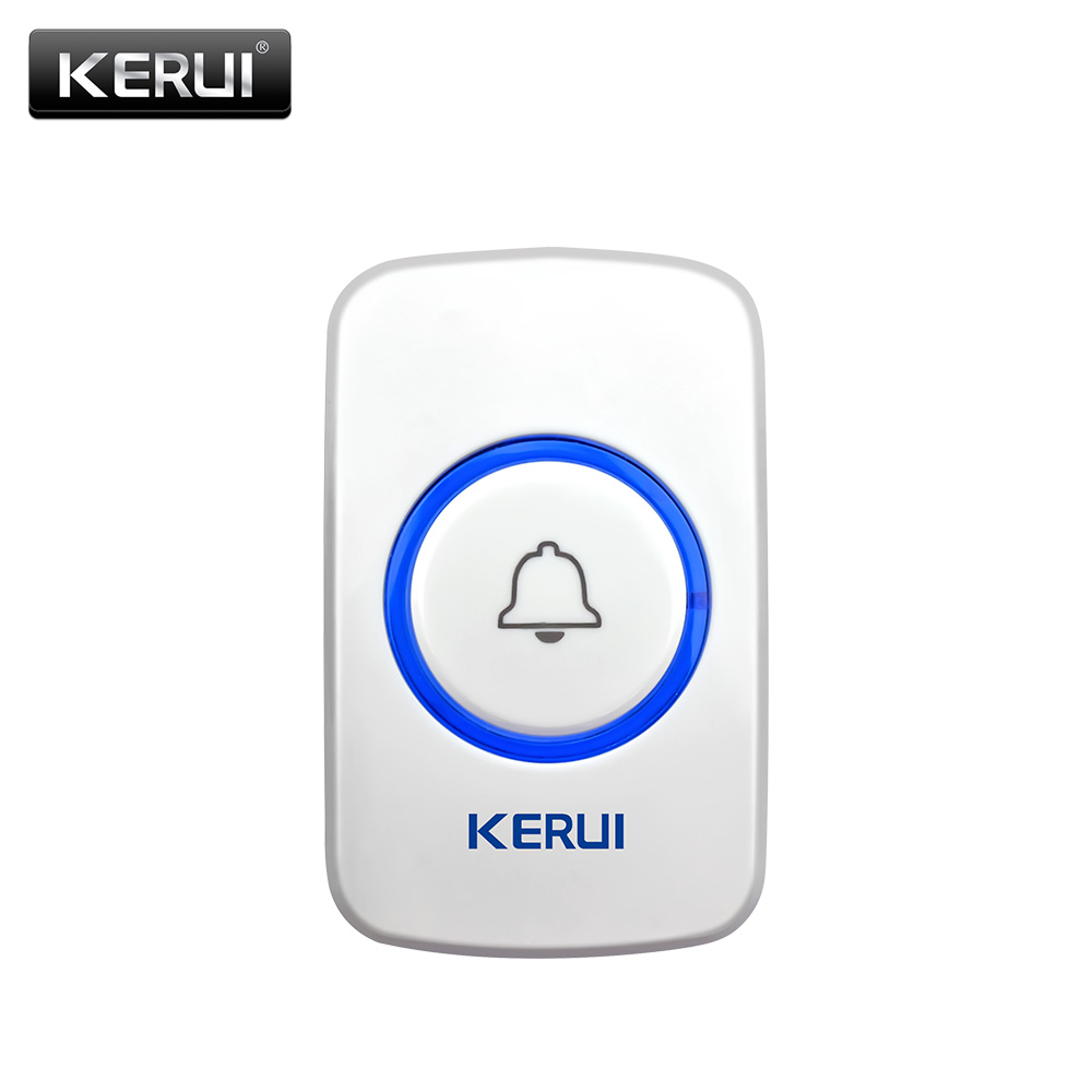KERUI F51 Wireless SOS Button emergency button 433MHz Alarm Accessories For gsm pstn intelligent  home alarm system wireless service call bell system popular in restaurant ce passed 433 92mhz full equipment watch pager 1 watch 7 call button