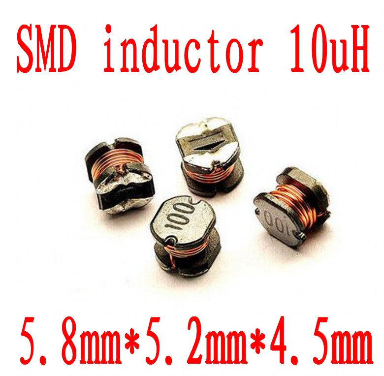 100pcs/lot SMD Power Inductor CD32 CD43 CD54 CD75 10uH 22uH 33uH 47uH 100uH 470uH 100 220 330 470 101 471 5mm5.2x4.5mm image