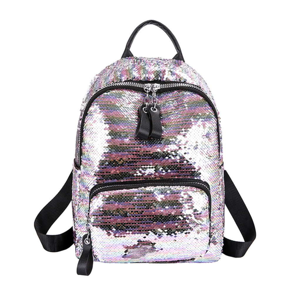 Shining Sequins Backpack Women Backpack School For Girl Travel Large Capacity Bags Party Bags Glitter Backpack Mochila