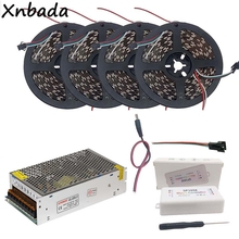 5m 10m 15m 20m WS2812B WS2812 30Leds/m 60Leds/m RGB Led Strip,SP105E Bluetooth Controller DC5V Power Supply Adapter Kit