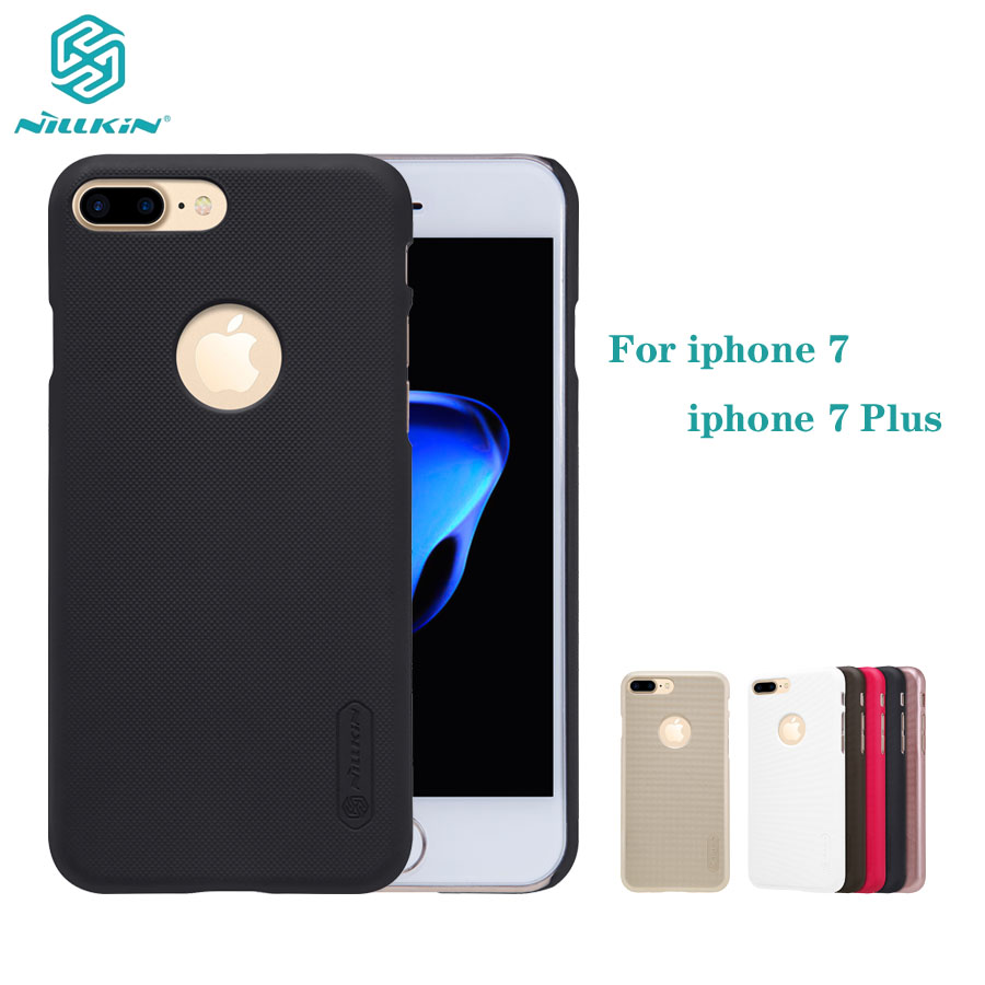 For iphone 7 7+ Plus Case Nillkin Phone Case Super Frosted Shield Hard PC Back Cover protector Case For iphone 7 Plus Cover
