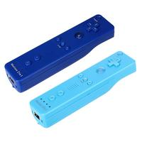2 In 1 Wireless Games Gamepad Built In Motion Plus Nunchuck Remote Controller With Silicone Case