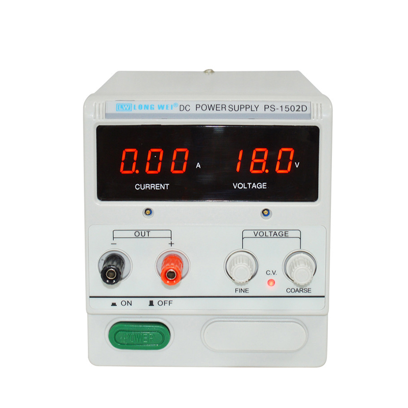 PS-<font><b>1502D</b></font> Voltage Regulator 15V 0-2A Digital Display Phone Repair DC Adjustable Power Supply 110V 220V Laboratory Power Supply image