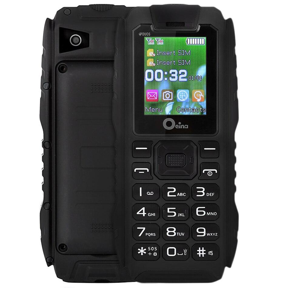 Цена за IP67 Водонепроницаемый Прочный Power Bank Телефон 1.77 Дюймов Oeina XP7 дешевые GSM Мобильный Телефон Dual SIM Карты 3600 мАч Большой батареи