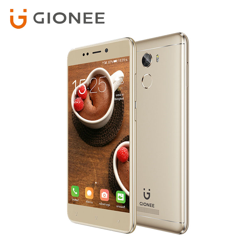 Global GIONEE X1S Android7.0 3GB+32GB MT6737T 64-bit Quad-core 1.5GHz 5.2inch HD IPS 2.5D 4000mAh Rear 13MP AF Mobile Phone OTG