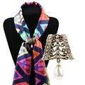 2016 новый Европейский мода ретро борода красивый шарф шарф пряжки полые женская одежда аксессуары подарки