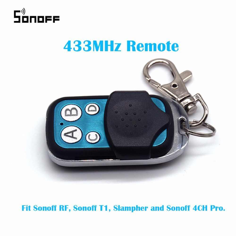 433 MHz 4 kanałowy Sonoff kontroler RF ABCD 4 przyciski Sonoff RF Slampher 4CH Pro elektryczny pilota zdalnego sterowania