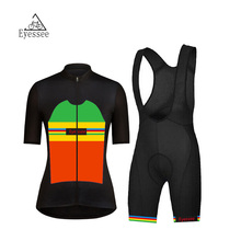 2018 Eyessee Female Short Sleeve Cycling Jersey Mountain MTB Women's Short Sleeve Wearing Bicycle Clothing