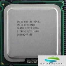 INTEL XEON X5482 SLANZ 3.2GHz/12M/1600Mhz/CPU equal to LGA775 Core 2 Quad Q9650 Q9550 CPU,works on LGA775 no need adapter