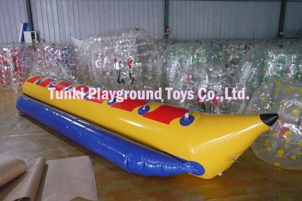 Inflatable Banana Boat 8 seats /Water Play Equipment Great Water Fun