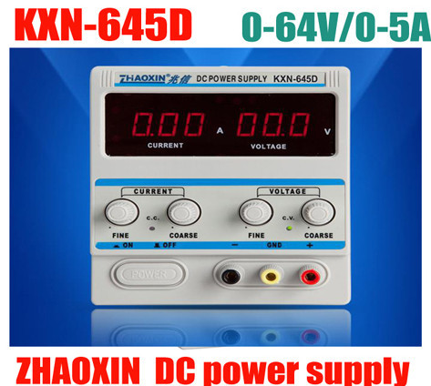high quality DC Power KXN-645D replacement RXN-605D DC power supply 64v 5A adjustable constant current regulator cps 6011 60v 11a digital adjustable dc power supply laboratory power supply cps6011