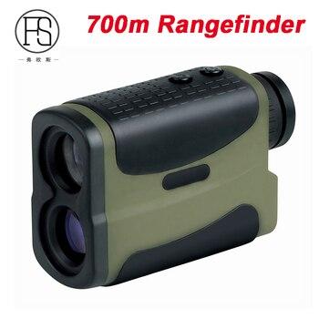 700m Laser Range Finder Monocular Telescope Hunting Rangefinder Outdoor Ranging Speed Tested Distance Measuring Device AC036