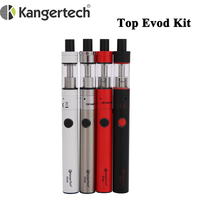 Cigarrillo Electrónico de Kanger superior Evod Topevod Kit de arranque 1,7 ml toptank Evod atomizador y 650mah vaporizador batería Kangertech de Kit